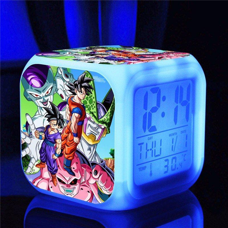 Dragon Ball Cartoon #12 LED Alarm Clock for Gift