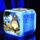 3D Totoro Cartoon #01 LED Alarm Clock for Gift