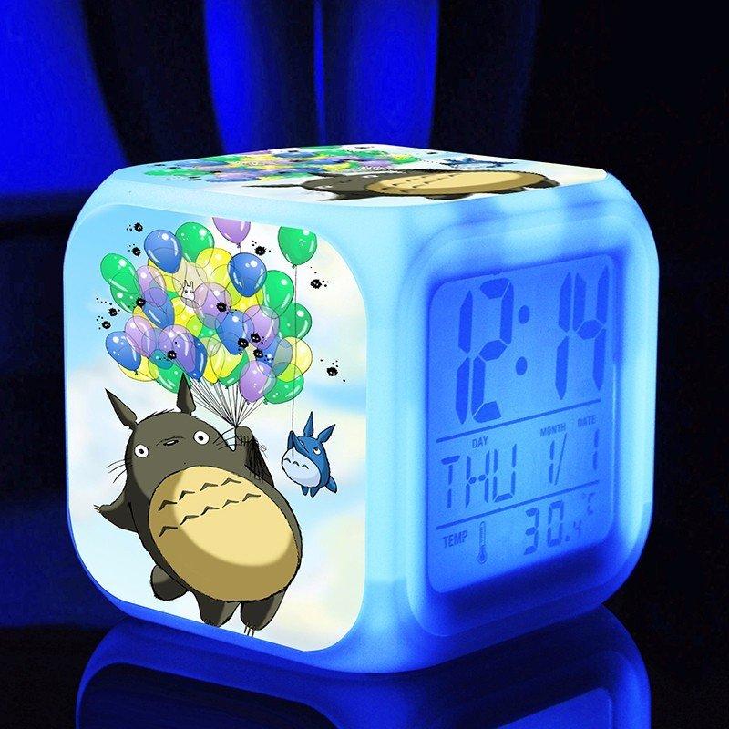 3D Totoro Cartoon #05 LED Alarm Clock for Gift