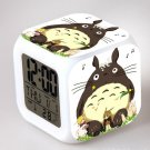 3D Totoro Cartoon #08 LED Alarm Clock for Gift