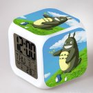 3D Totoro Cartoon #10 LED Alarm Clock for Gift