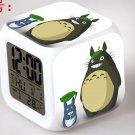 3D Totoro Cartoon #15 LED Alarm Clock for Gift