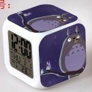 3D Totoro Cartoon #17 LED Alarm Clock for Gift