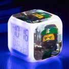 The Lego Movie #12 LED Alarm Clock for Gift