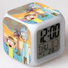 rick and morty Movie #01 LED Alarm Clock for Gift