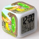 rick and morty Movie #02 LED Alarm Clock for Gift