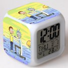 rick and morty Movie #03 LED Alarm Clock for Gift