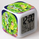 rick and morty Movie #04 LED Alarm Clock for Gift