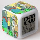 rick and morty Movie #05 LED Alarm Clock for Gift
