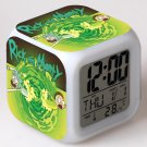rick and morty Movie #06 LED Alarm Clock for Gift