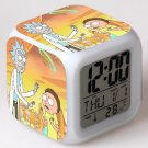 rick and morty Movie #07 LED Alarm Clock for Gift