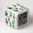 Snow White #08 LED Alarm Clock for Gift
