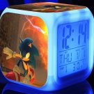 Sonic the Hedgehog #01 LED Alarm Clock for Gift