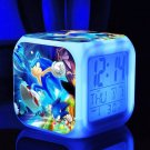 Sonic the Hedgehog #07 LED Alarm Clock for Gift