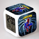 Spiderman Movie Cartoon #05 LED Alarm Clock for Gift