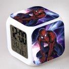 Spiderman Movie Cartoon #07 LED Alarm Clock for Gift