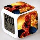 Spiderman Movie Cartoon #11 LED Alarm Clock for Gift