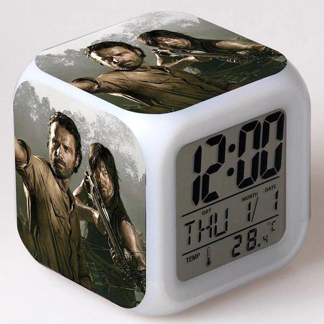 The Walking Dead #02 LED Alarm Clock for Gift