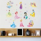 snow white #04 Wall Sticker Wall Decals for Decorative Kids Room 60*90cm