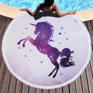 Unicorn cartoon series #05 Beach Towel Mat Travel Mat Home Decor Mat