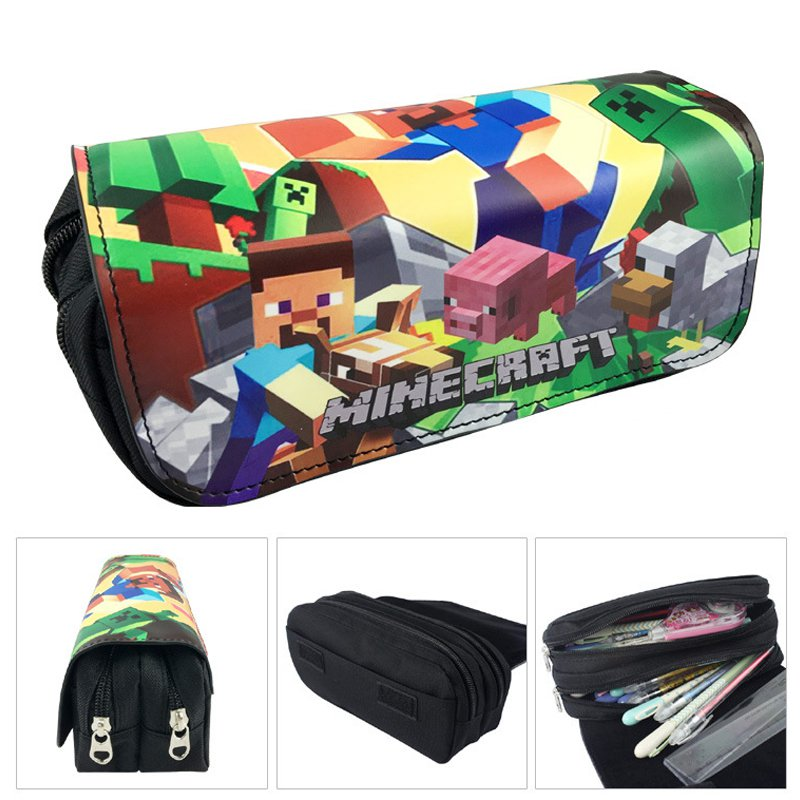 Minecraft #02 Pencil Case For Children Boys Girls Students