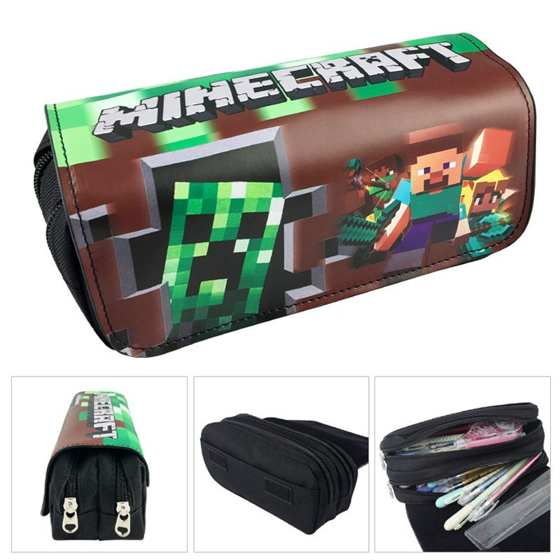 Minecraft #03 Pencil Case For Children Boys Girls Students