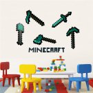 New Minecraft #10 Wall Sticker Wall Decals for Decorative Kids Room
