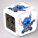 Lilo and Stitch Cartoon #02 LED Alarm Clock for Gift