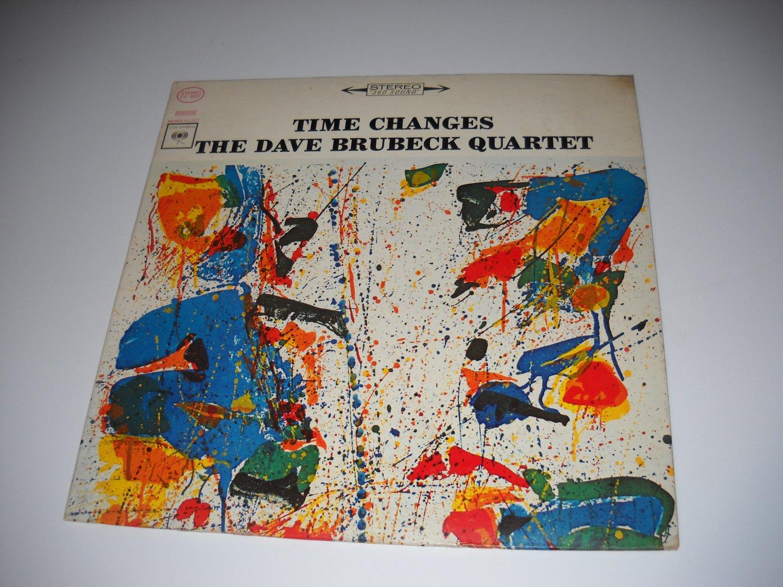 Dave Brubeck Quartet - Time Changes (CS 8927) on LP