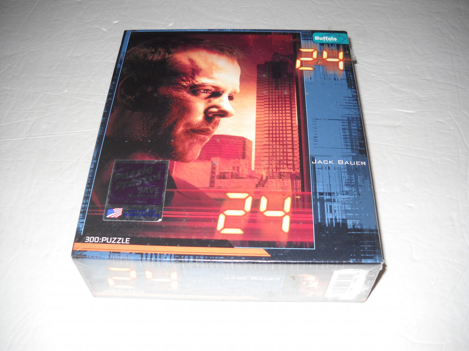 """Jack Bauer of """"24"""" - 300 Piece Puzzle - Buffalo Games"""