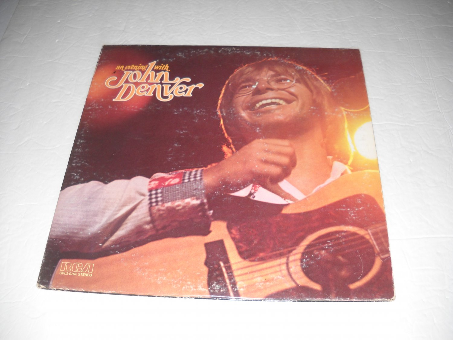 An Evening With John Denver on Record -- CPL2-0764-1 -- Vintage Live Double LP