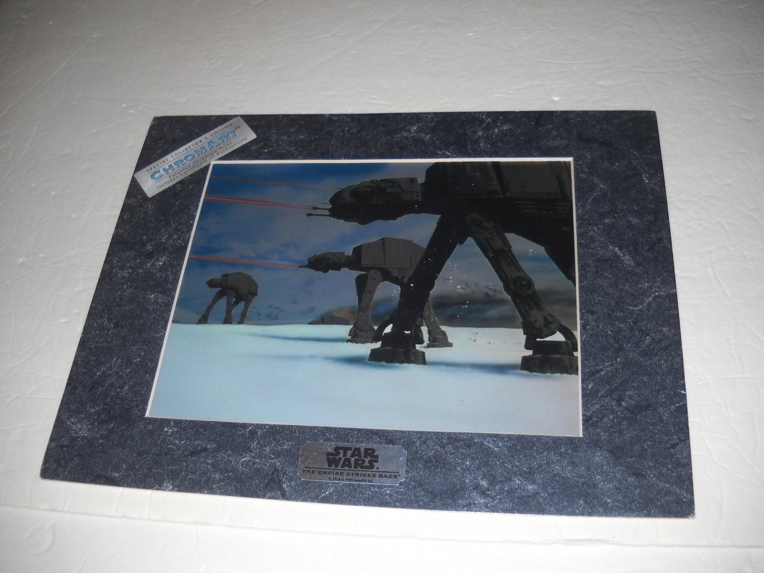 Star Wars: Empire Strikes Back Special Collectors Edition ChromArt: AT-AT Hoth