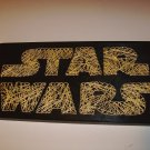 Star Wars -- String Art -- Star Wars Logo -- Handcrafted -- Limited Edition