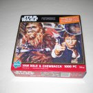 Star Wars Photomosaics 1000 Piece Jigsaw Puzzle - Han Solo & Chewbacca