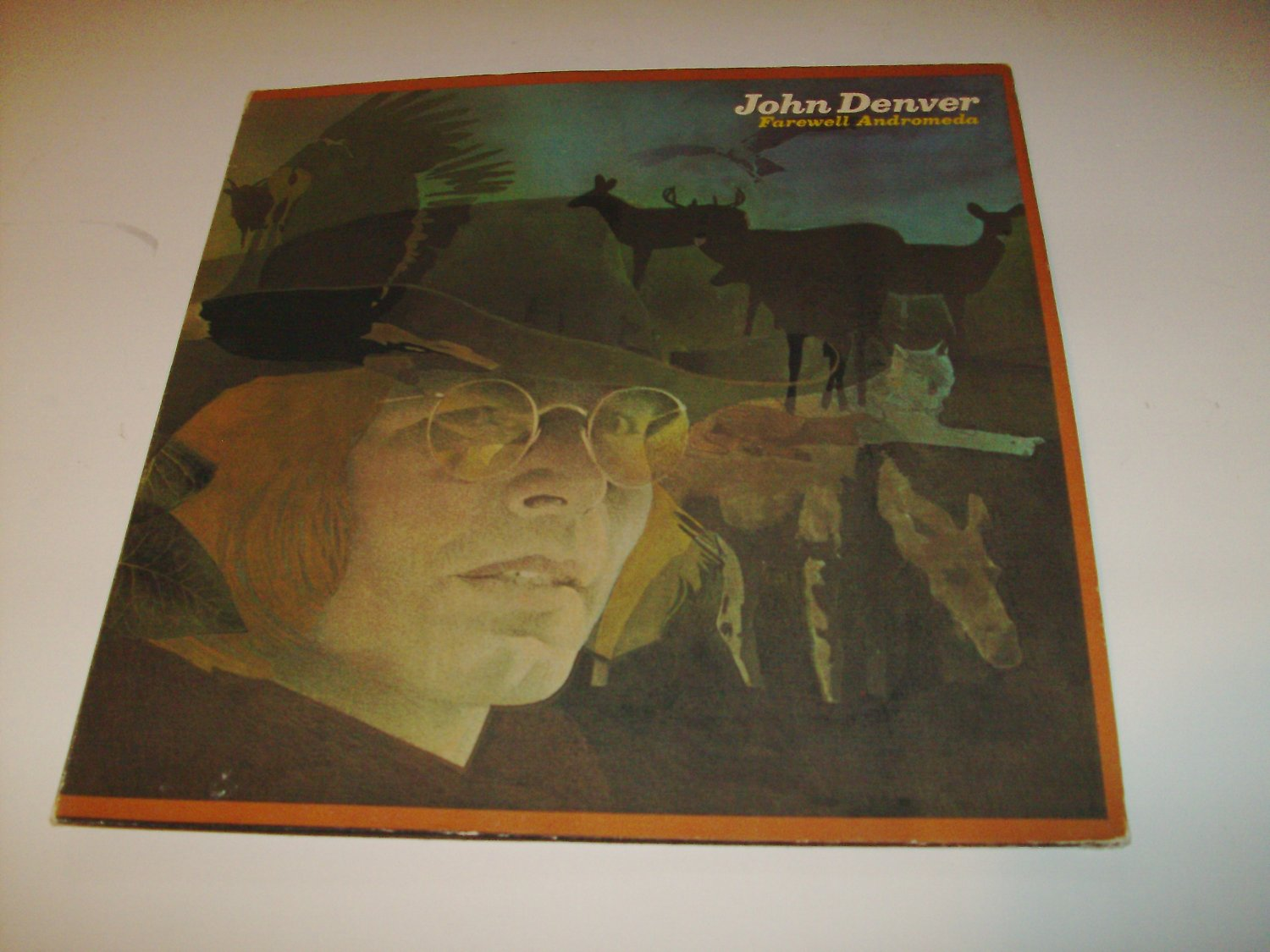 John Denver - Farewell Andromeda (APL1-0101) on 33 rpm Vinyl LP