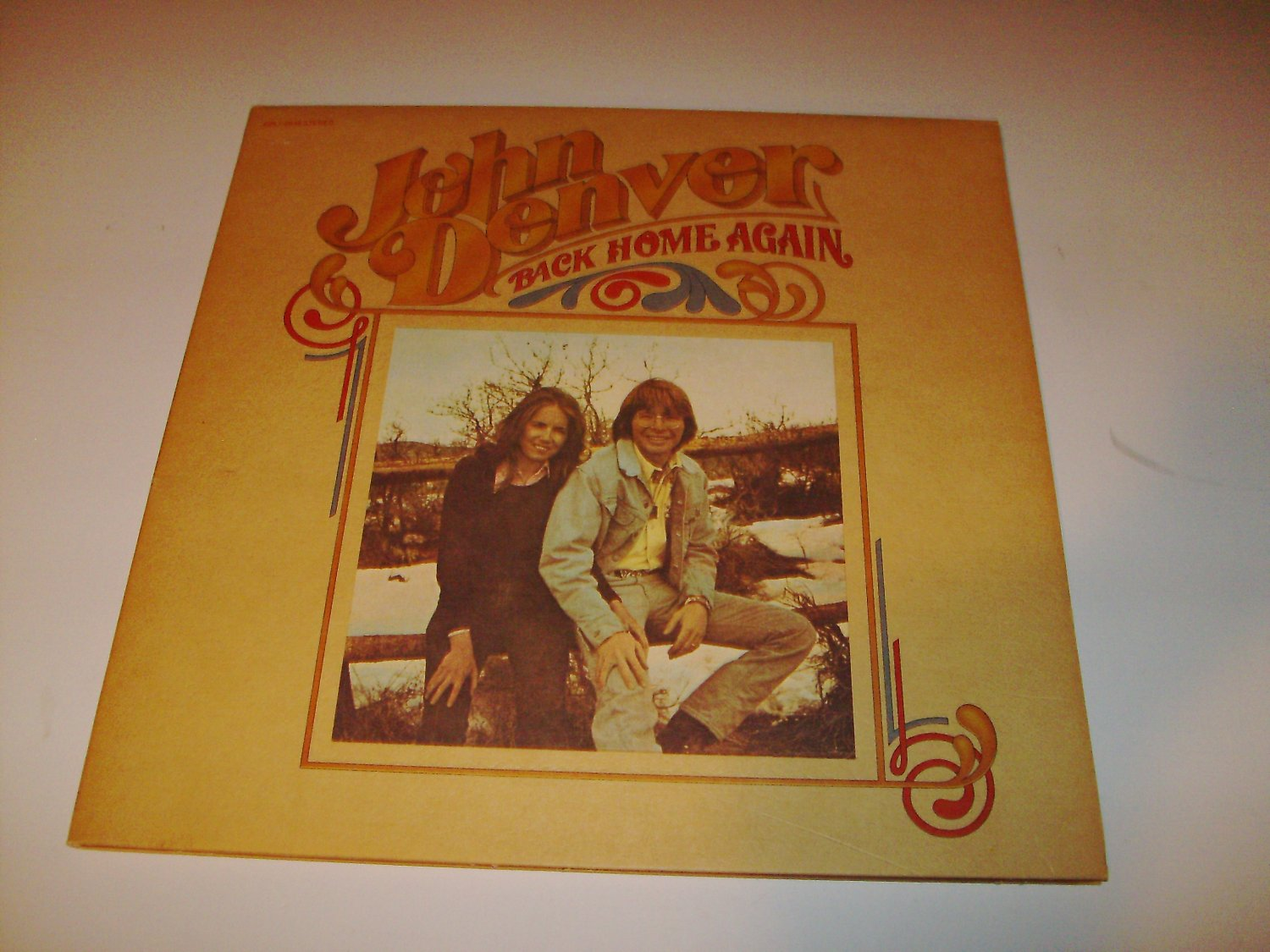 John Denver - Back Home Again (CPL1-0548) on 33 rpm Vinyl LP