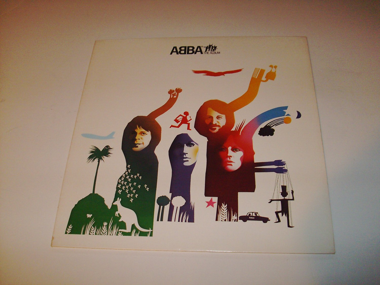 Abba - The Album (SD 19164) on 33 rpm Vinyl LP