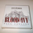 Blood & Ivy - Paul Collins -Unabridged Audio CD Book- 1849 Harvard MurderScandal