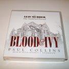 Blood & Ivy - Paul Collins -Unabridged Audio CD Book- 1849 Harvard MurderScandal