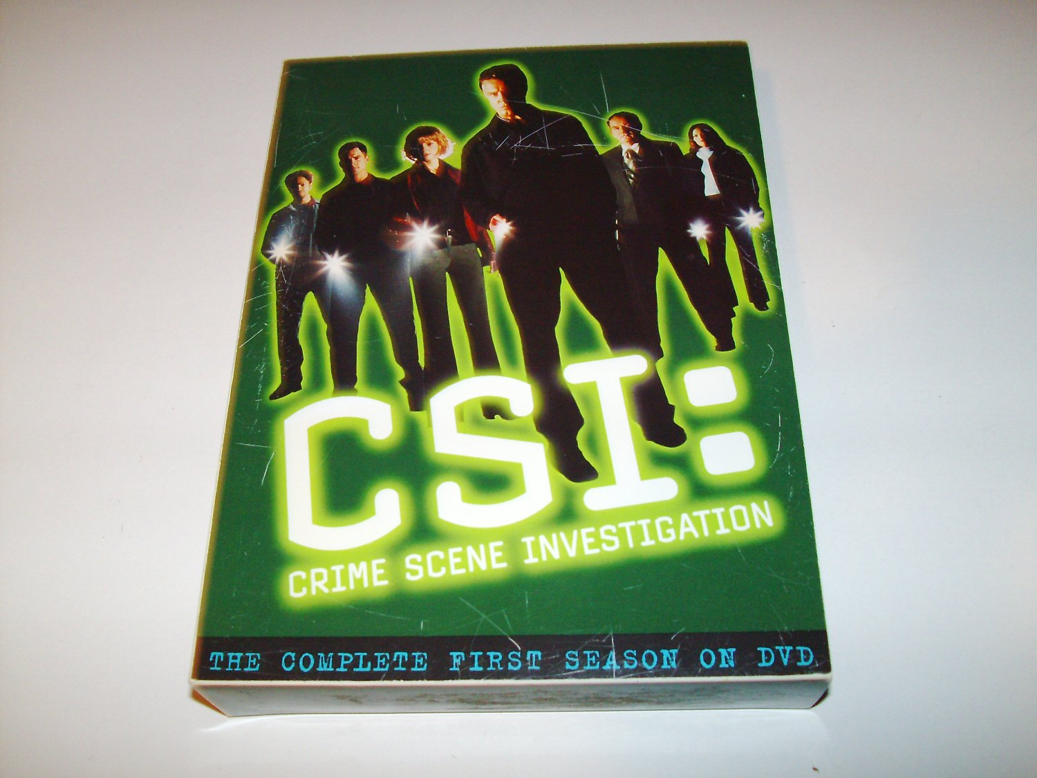 CSI - Complete First Season (87165) [ DVD Box Set ] - Crime Scene Investigation