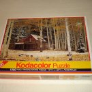 Rose Art Puzzle - Cabin And Aspens (77777) - Kodacolor - 1000 Piece