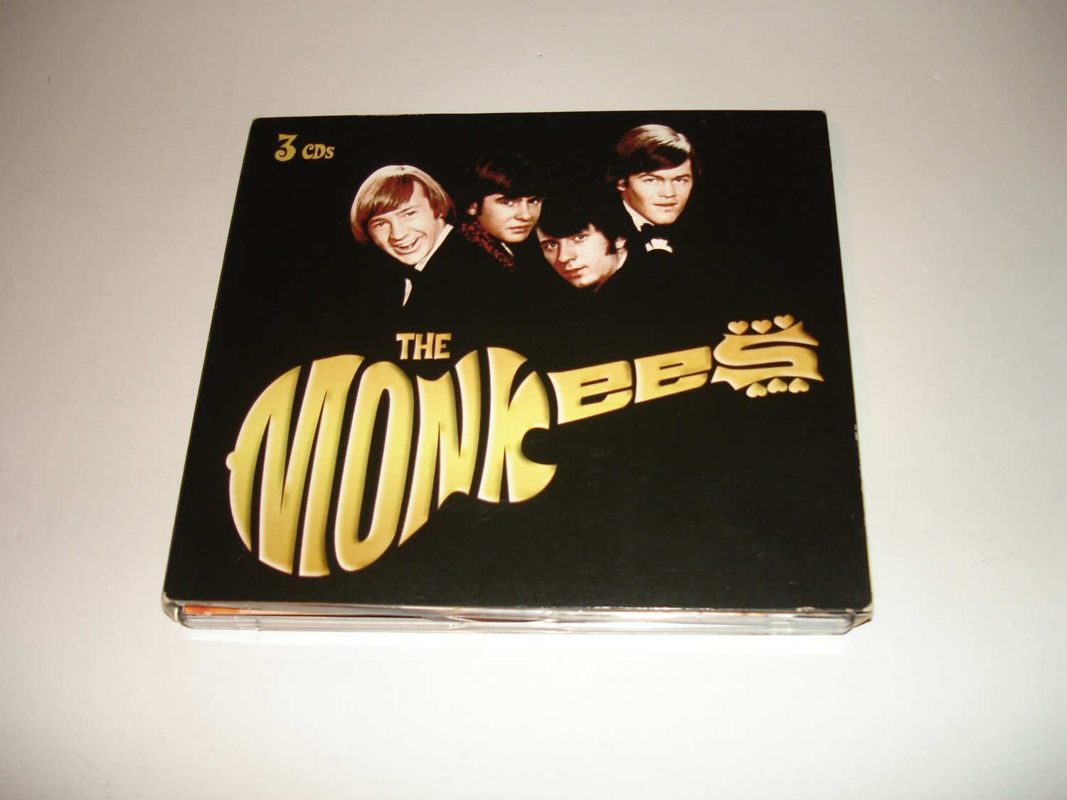 The Monkees (TCD 53210) on Audio CD - 3 CD Set - Madacy