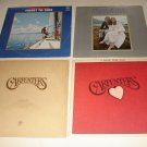 Carpenters LPs (4): SongForYou + TicketToRide + CloseToYou + Superstar [33 rpm]
