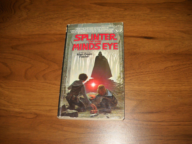 Splinter Of The Mind's Eye (26062) - Alan Dean Foster - Paperback - Star Wars