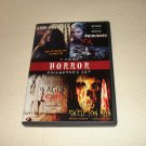 4 Horror Collectors DVD (87789): LiveAnimals WagesSin Roman SkeletonMan