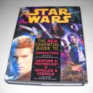 Star Wars: Essential Guides -3 in 1 Hardcover-Characters+Weapons/Tech+Vehicles