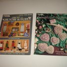Leisure Arts Crochet Craft Books: Sweetheart Sachets+Country Kitchen