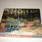 Dried Flower Market (4710-15) - 1000 Piece Puzzle - Parker Brothers - 20.125 x 27.5