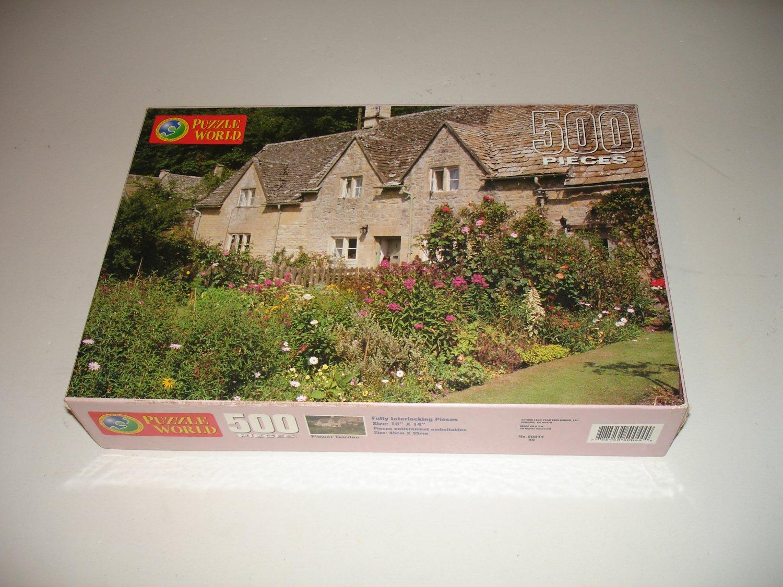 Flower Garden (5004445) - 500 Piece Puzzle - Puzzle World - 18 x 14