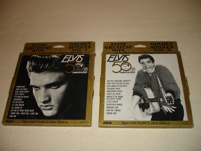Elvis' Greatest Hits: 2 Volume Set- 24 Golden Singles (PP 13897) -50th RCA Anniversary